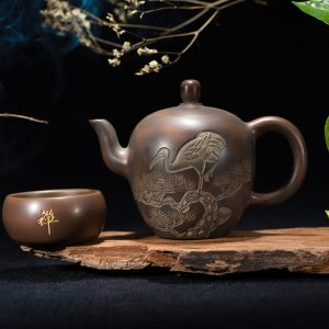 traditional Chinese teapot set